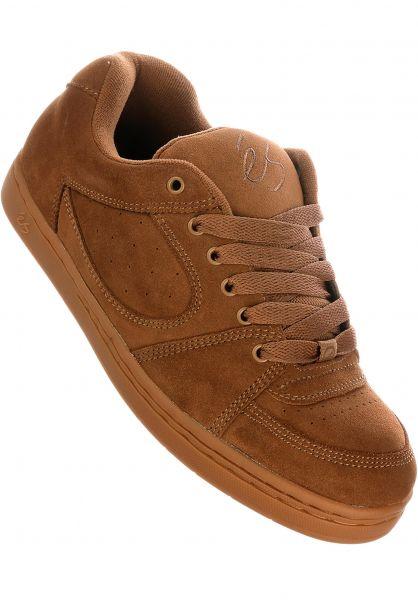 ES Alle Schuhe Accel OG brown-gum vorderansicht 0604545