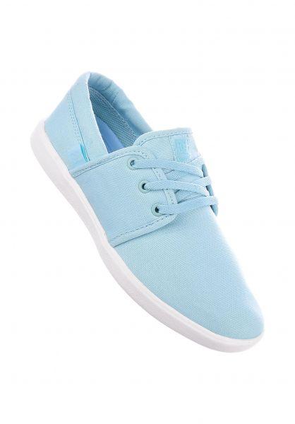 DC Shoes Alle Schuhe Haven TX lightblue Vorderansicht
