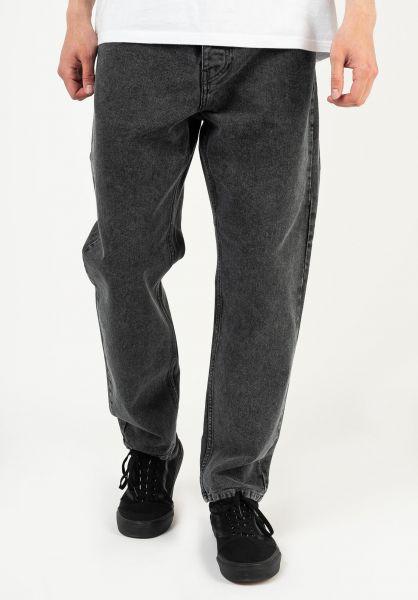 Carhartt WIP Jeans Newel Pant (Cropped) blackwornwashed vorderansicht 0227155