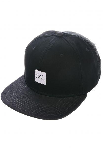 Cleptomanicx Caps Badger 3 black vorderansicht 0565955