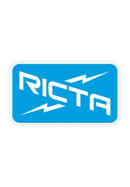 """Ricta Verschiedenes Ricta Logo 3"""" blue-white vorderansicht 0972639"""