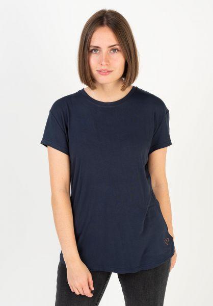 alife and kickin T-Shirts Mimmy marine 320 vorderansicht 0320759