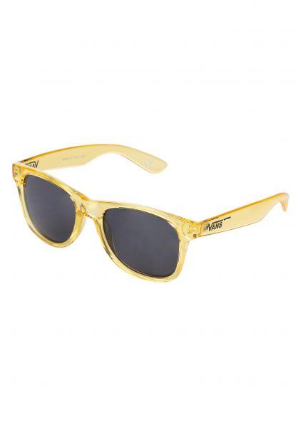 Vans Sonnenbrillen Spicoli 4 cyberyellow-truewhite vorderansicht 0590197