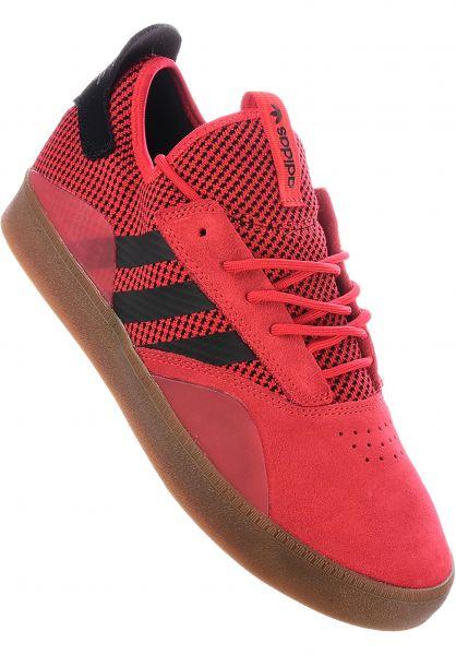 adidas-skateboarding Alle Schuhe 3ST.001 scarlet-coreblack vorderansicht 0604416