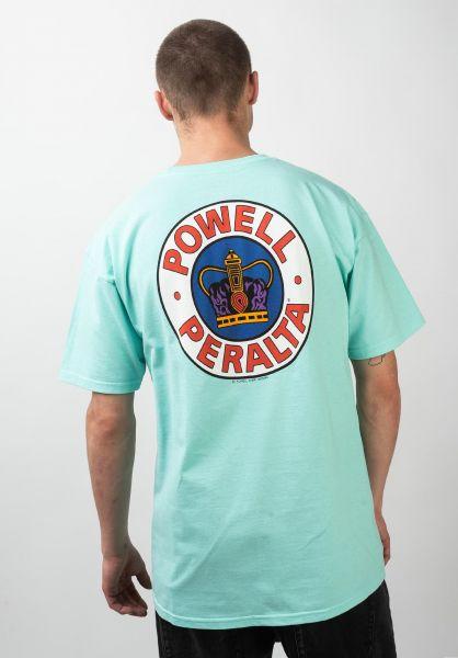 Powell-Peralta T-Shirts Supreme celadon vorderansicht 0374338