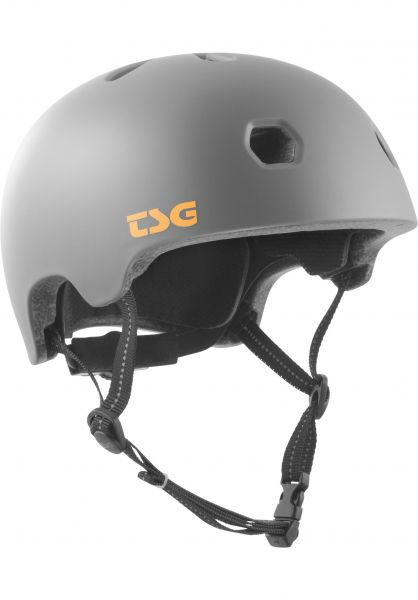 TSG Helme Meta Solid Color satin coal vorderansicht 0750123