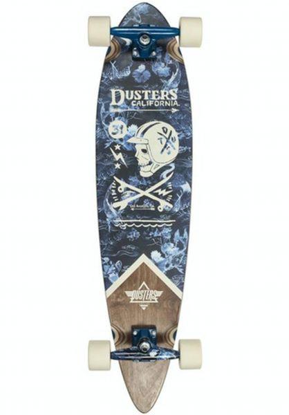 Dusters Longboards komplett Moto grey-natural vorderansicht 0195823
