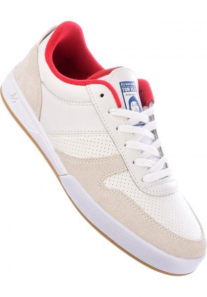 ES Alle Schuhe Contract GESPERRT! white vorderansicht 0060920