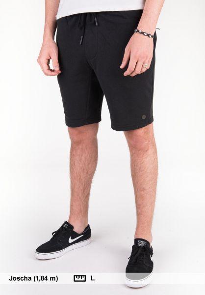 Neff Shorts Flow black Vorderansicht