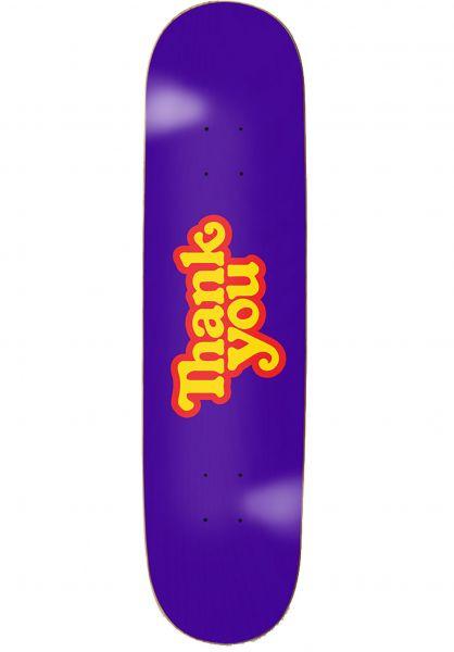 Thank You Skateboards Skateboard Decks Thank You purple vorderansicht 0261680