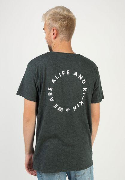 alife and kickin T-Shirts Logo Pocket moonless 320 vorderansicht 0322162