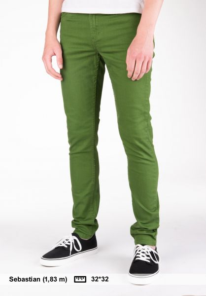 TITUS Jeans Skinny Fit dill Vorderansicht