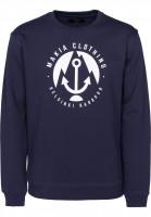 Makia-Sweatshirts-und-Pullover-Harbour-navy-Vorderansicht