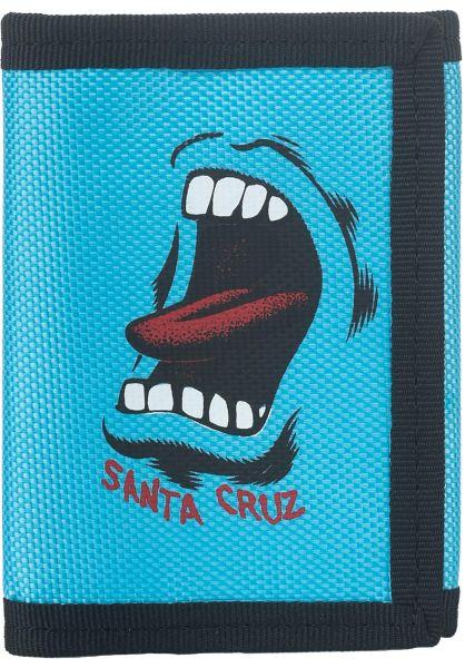 Santa-Cruz Portemonnaie Scream blue vorderansicht 0781026
