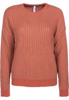 RVCA Strickpullover Light Up dustyrose Vorderansicht
