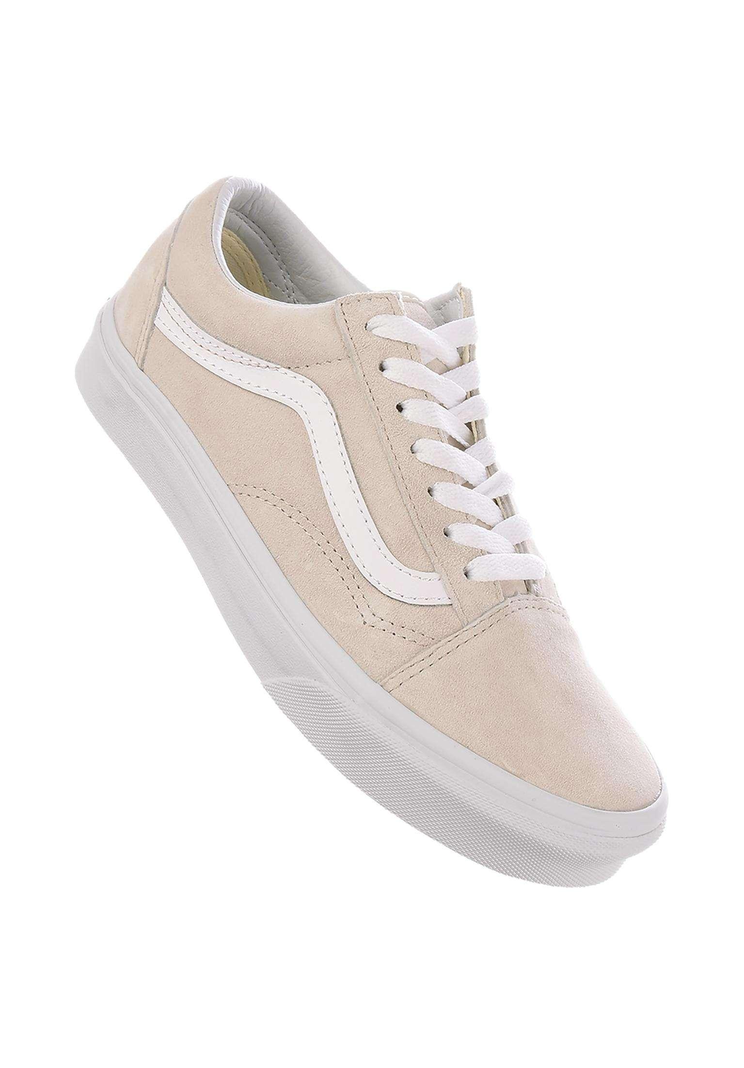 8136c67684 Old Skool Vans All Shoes in moonbeam-truewhite for Women