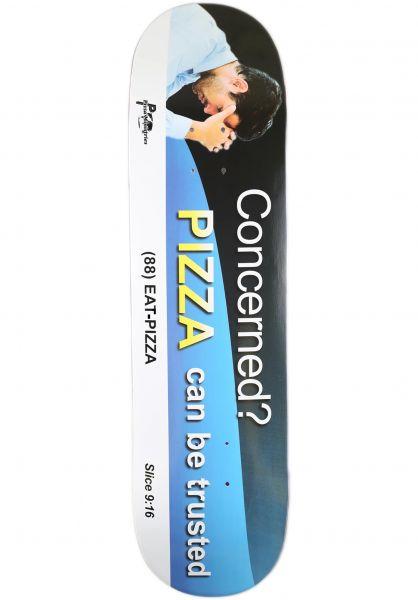 Pizza Skateboards Skateboard Decks Concerned multicolored vorderansicht 0268155