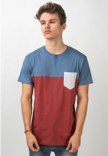 iriedaily T-Shirts Block Pocket 2 masala vorderansicht 0397458
