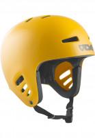 TSG Helme Dawn Solid Color mustard Vorderansicht