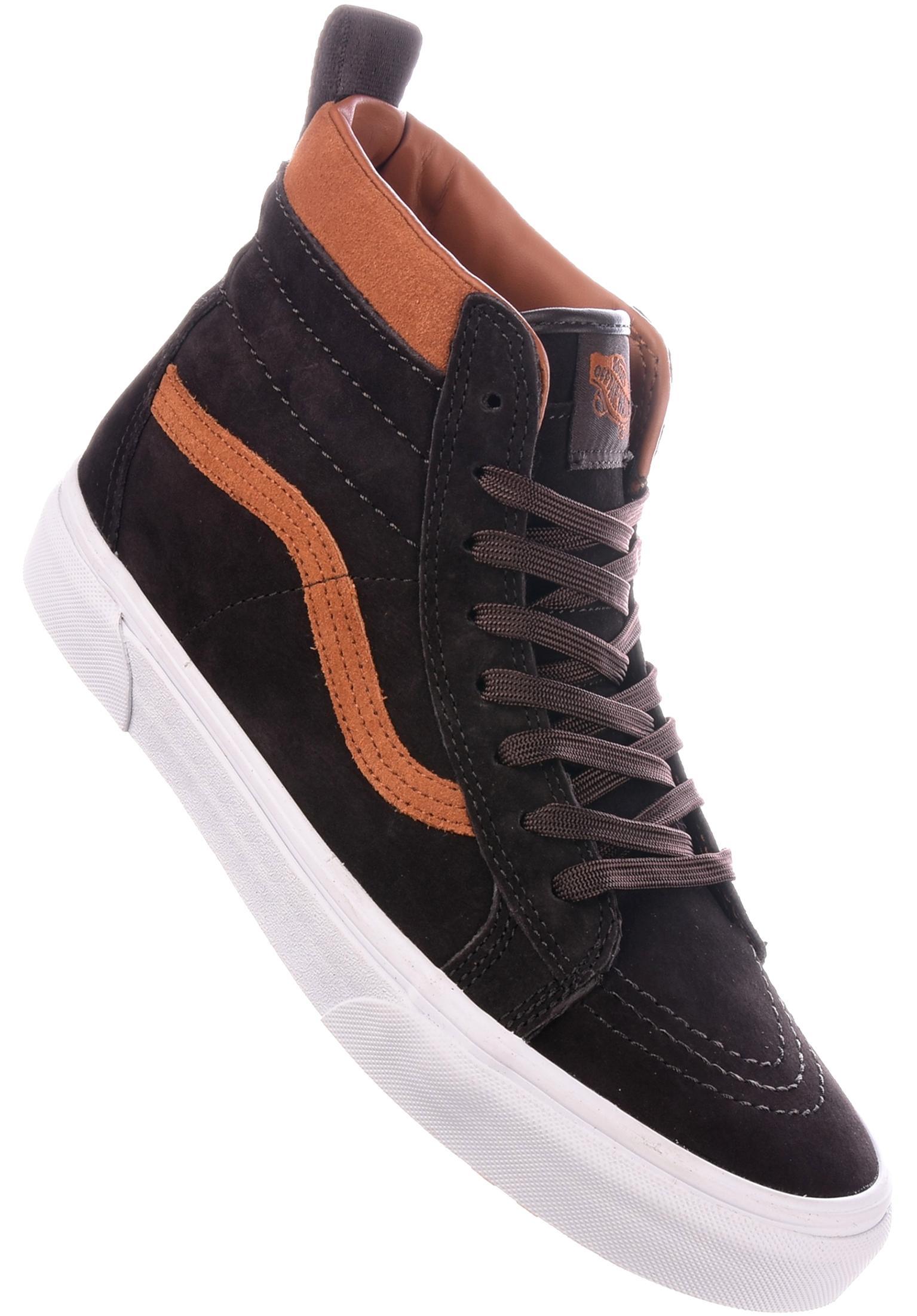 cc56ef97dc Sk8 Hi MTE Vans All Shoes in chocolate-torte for Men