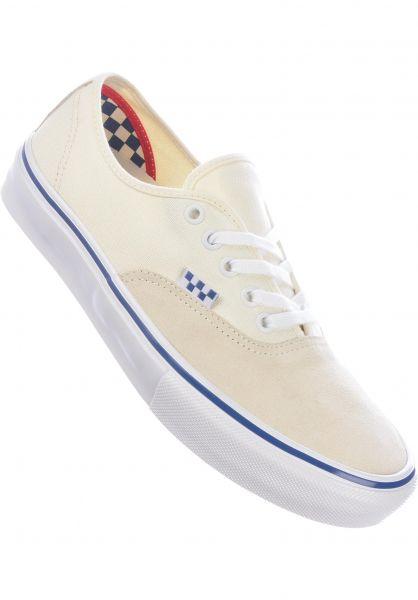 Vans Alle Schuhe Skate Authentic offwhite vorderansicht 0604974
