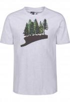 Rules T-Shirts Fir Forest lightheathergrey Vorderansicht