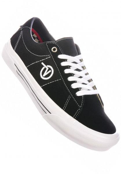 Vans Alle Schuhe Skate Sid black-white vorderansicht 0604967
