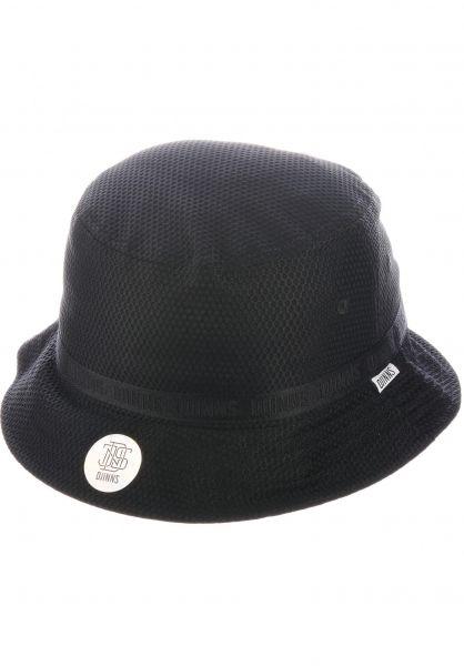 Djinns Hüte Bucket Hat Honey Nylon black vorderansicht 0580423