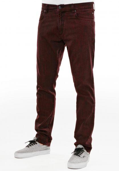 Reell Jeans Nova red-black Vorderansicht