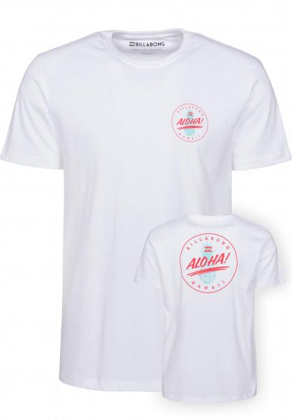 billabong t shirt uomo  Aloha Billabong T-shirt in white da Uomo | Titus