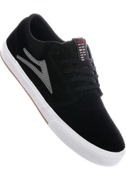 Lakai Alle Schuhe Griffin VLK black-grey Vorderansicht