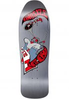 H-Street Skateboard Decks Matt Hensley Kingsize Hornblower E-Series metallic-silver Vorderansicht