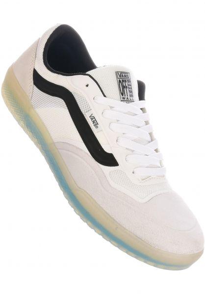 Vans Alle Schuhe Ave Pro blancdeblanc-black vorderansicht 0604646