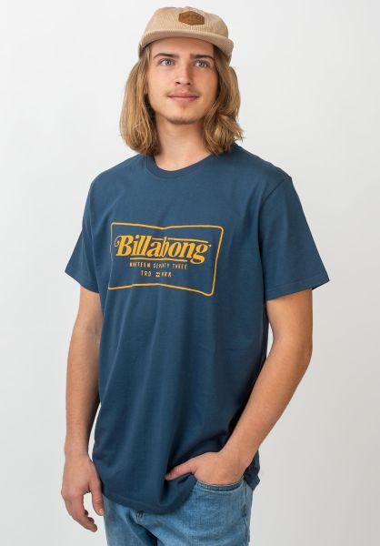 Billabong T-Shirts TRD Mark darkblue vorderansicht 0320678