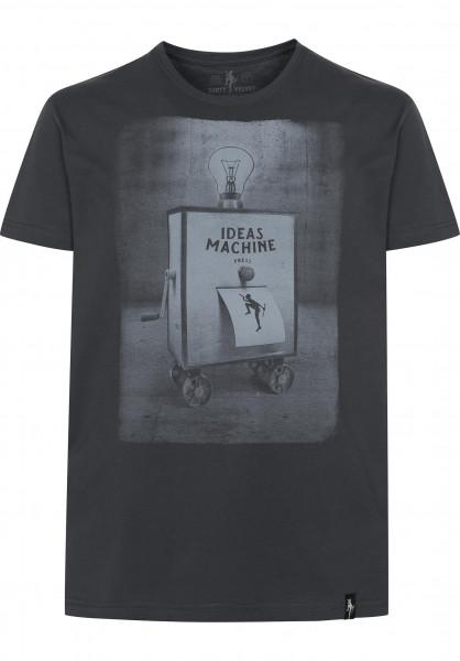 Dirty Velvet T-Shirts Ideas Machine charcoal Vorderansicht