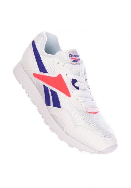Reebok Alle Schuhe Rapide MU white-teampurple-neonred vorderansicht 0612492