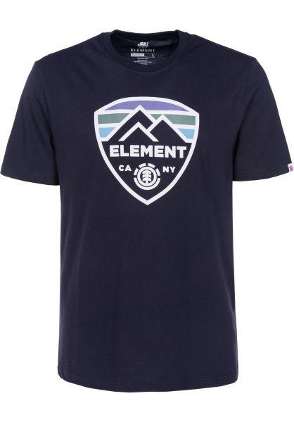 Element T-Shirts Guard eclipsenavy Vorderansicht