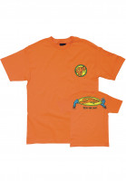 OJ Wheels T-Shirts Stretch Your Limits orange Vorderansicht