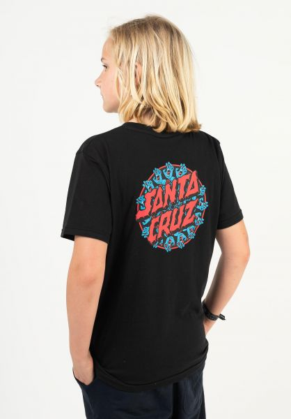 Santa-Cruz T-Shirts Youth Handy Dot black vorderansicht 0323317