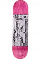 Polar Skate Co Skateboard Decks Straight From The Hood pink Vorderansicht