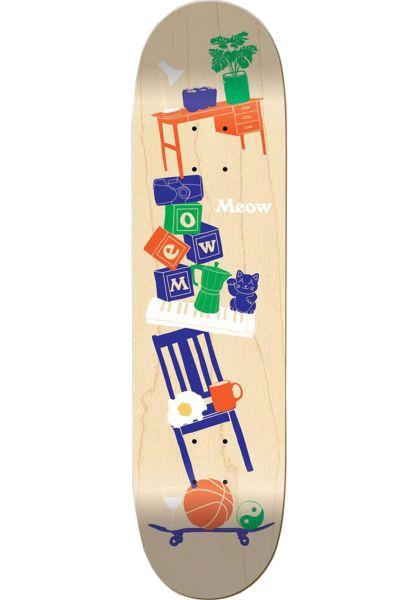 Meow Skateboards Skateboard Decks Precarious natural vorderansicht 0262740