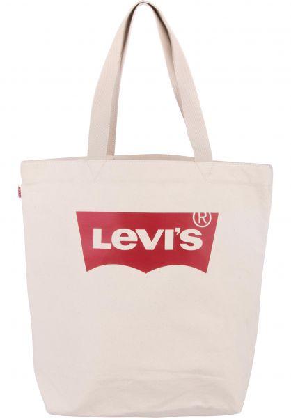 Levi's® Taschen Batwing Tote ecru Vorderansicht