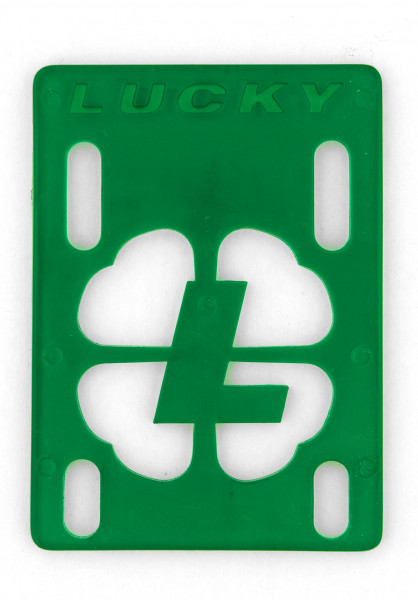 """Lucky 1/8""""-Riser green Vorderansicht"""