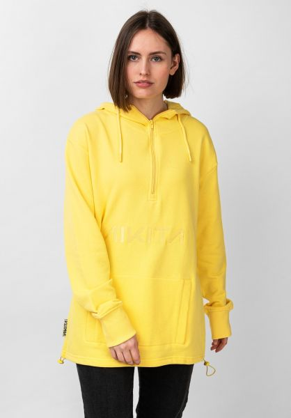Nikita Hoodies Chill lightyellow vorderansicht 0445679