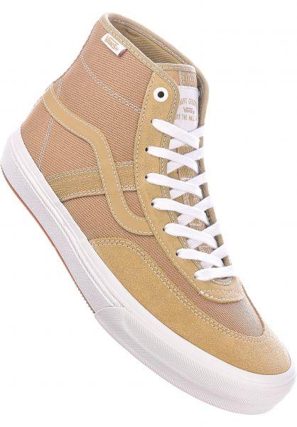 Vans Alle Schuhe Crockett High Pro incense-white vorderansicht 0602294
