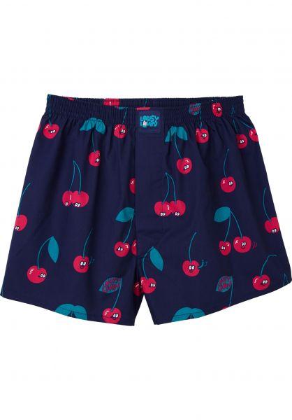 Lousy Livin Unterwäsche Cherries cherryblue vorderansicht 0213249