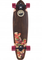 TITUS-Longboards-komplett-Flowers-TM-multicolored-Vorderansicht