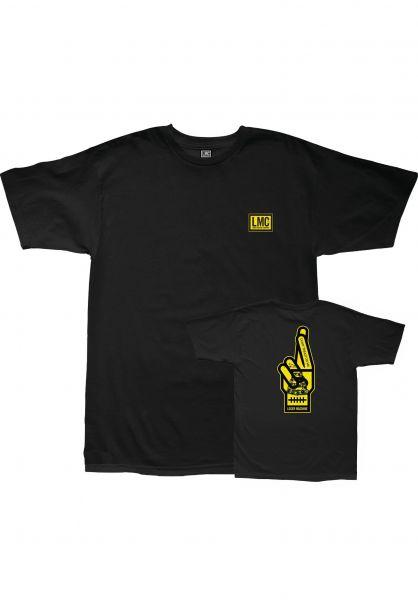 Loser-Machine T-Shirts Free Land black vorderansicht 0322877