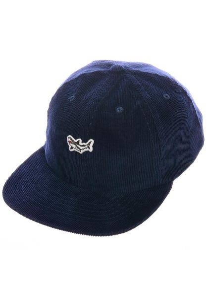 Dark Seas Caps Brody navy vorderansicht 0566344