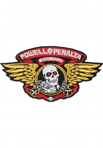 "Powell-Peralta Verschiedenes Winged Ripper Patch 5"" multicolored Vorderansicht"
